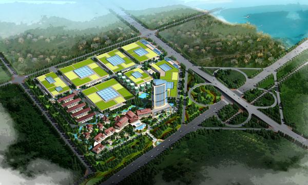 山东青岛·山东路15号总体规划         青岛即墨·世联高新产业